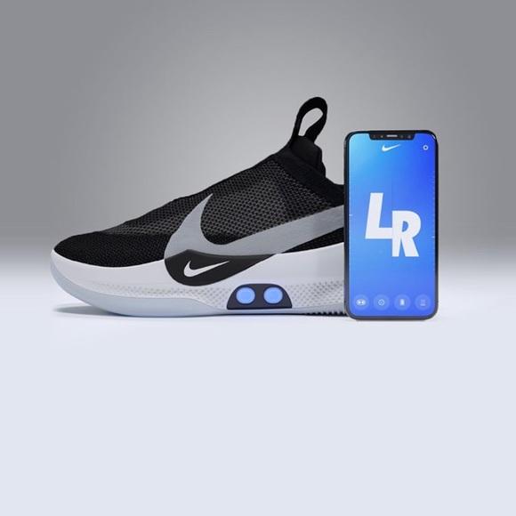 Nike Shoes | Nike Adapt Bb Black Pure